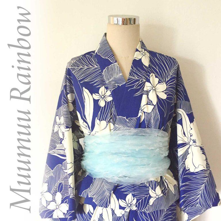 ハワイアン浴衣で秋祭り!