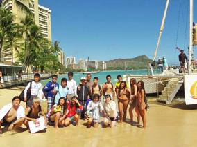 生きた英語を学ぶ夏のプチ留学コース