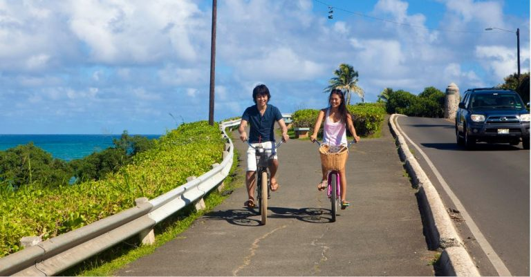 カイルアビーチツアー参加で自転車無料レンタル!