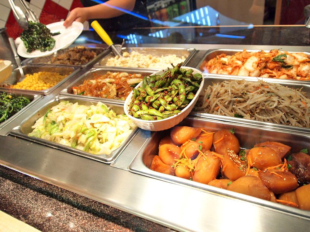 【ヤミーコリアンBBQ】プレートメニューは好きな副菜を選べる!