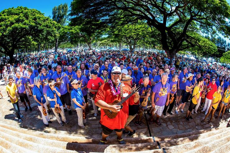 アロハあふれるハワイ最大のウクレレフェス