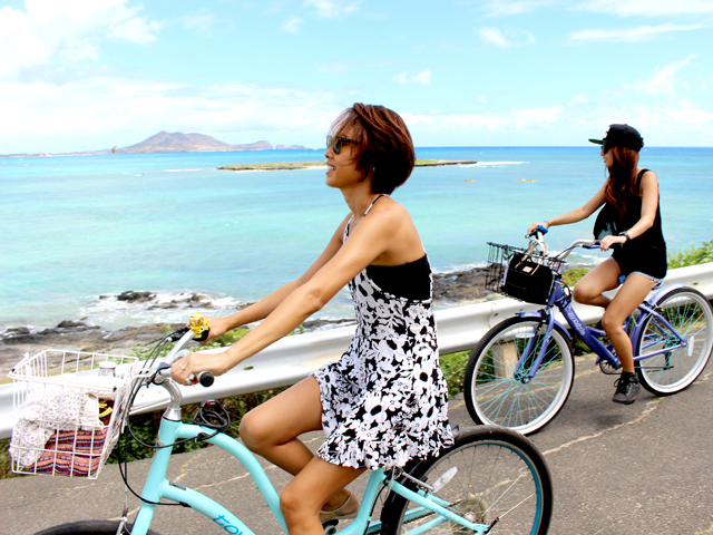 インスタ投稿でレンタル自転車をお得に満喫