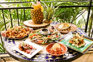 創作ハワイアン料理でスペシャルなアロハ体験