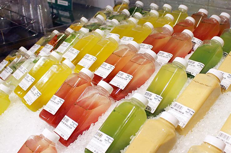 <おすすめドリンク>フレッシュジュース $2.99〜