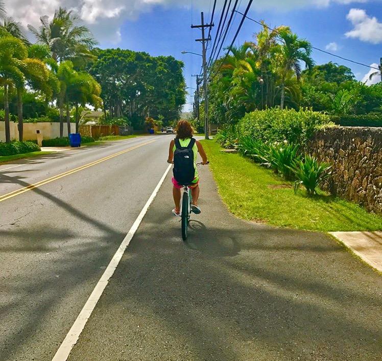 レンタル自転車でサイクリング!
