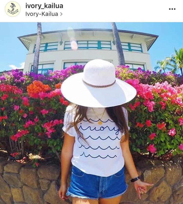 Tシャツ (Kailua Town )