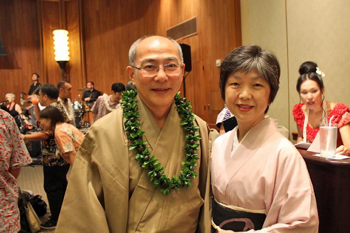 在ホノルル日本国総領事 三澤ご夫妻