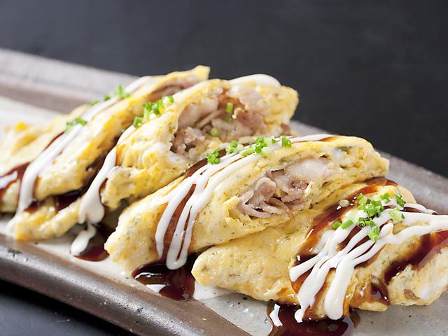 大阪名物 豚平焼