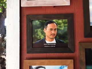 ハリウッド俳優の写真展示コーナー増設