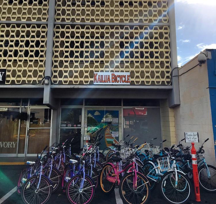 レンタル自転車(カイルア)