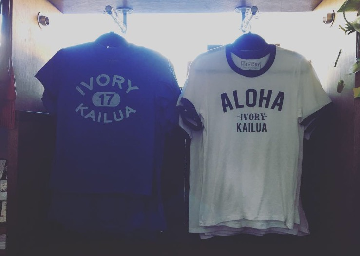 Tシャツ From Kailua town