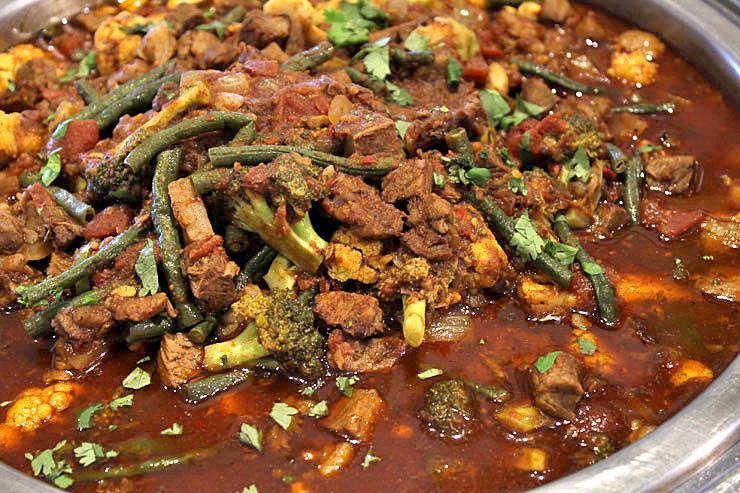 ビーフ&野菜のインドカレー