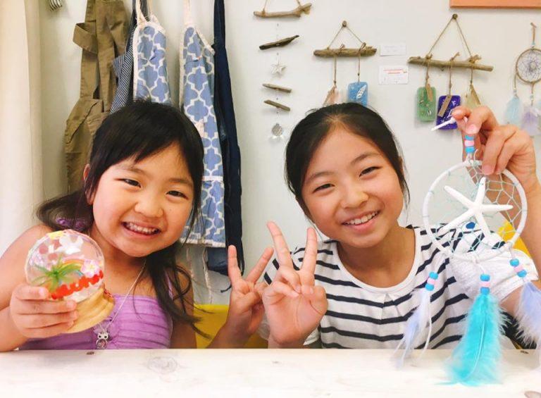 クラフト大好き姉妹ちゃん♥スノードーム&ドリームキャッチャー