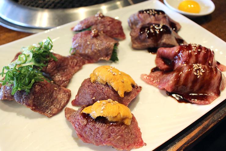 カパフルの焼肉ふたごが凄い!ユッケも肉寿司も大満足新メニュー