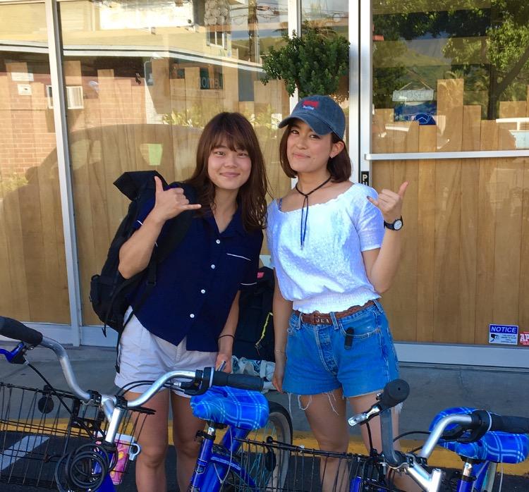 レンタル自転車(ピルボックスへ)