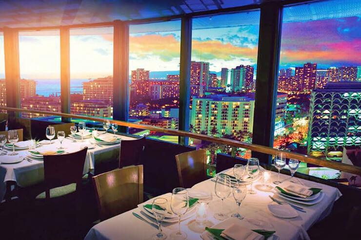 絶景レストランの特別メニューでホリデーを祝おう