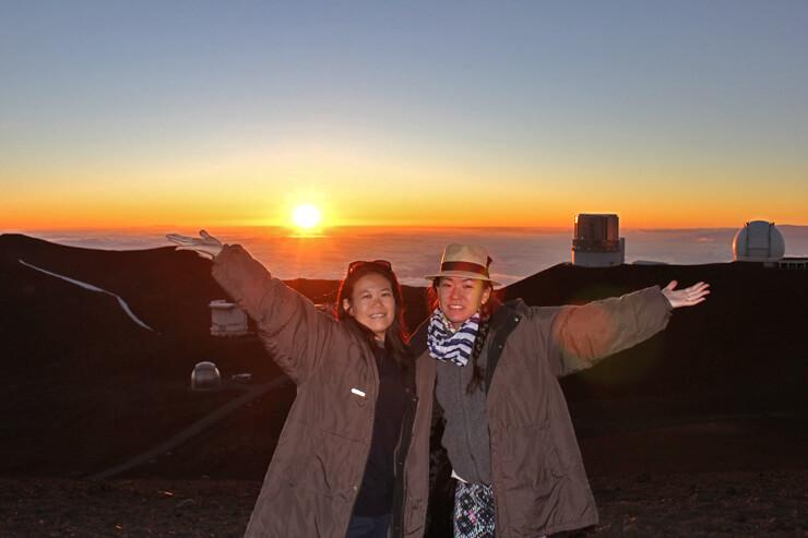 ハワイ島を1日で満喫!火山&溶岩&雲海に沈む夕陽