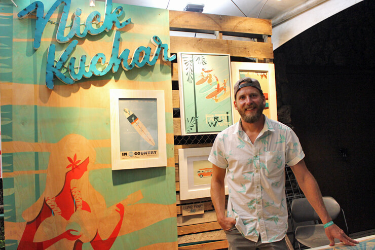 フロリダ出身、オアフ島在住の人気アーティスト、ニック・カッチャーも!