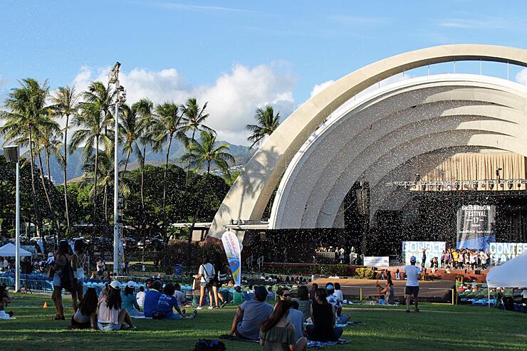 ハワイの空へ!グリーンルーム・フェスティバル2017