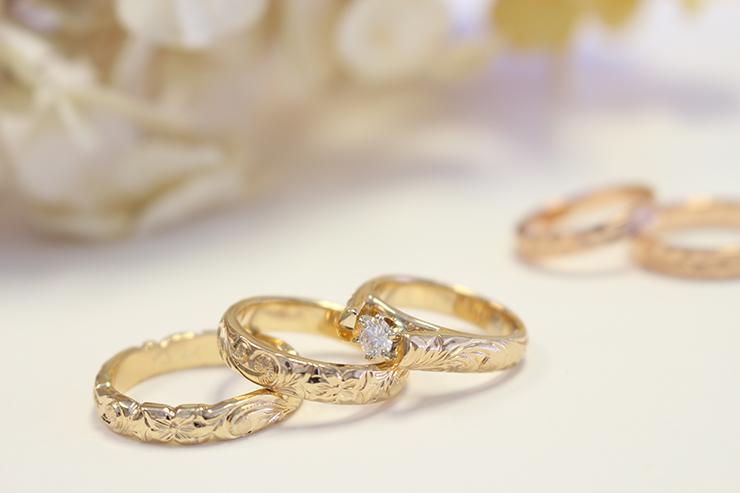 婚約・結婚指輪は最短で中1日からカスタムオーダー可能