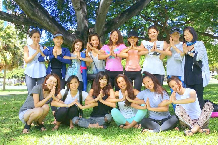 ハワイでのヨガ留学がさらにパワーアップ