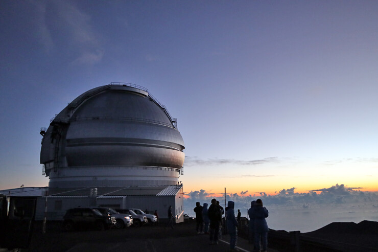 ハワイ最高峰のマウナケア山