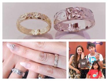 オーダーメイドの結婚指輪💍✨