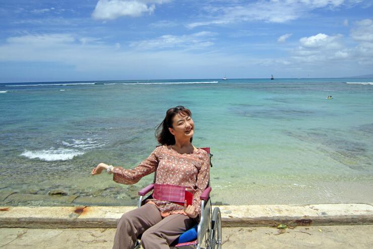 車椅子での快適ハワイ旅行を実現