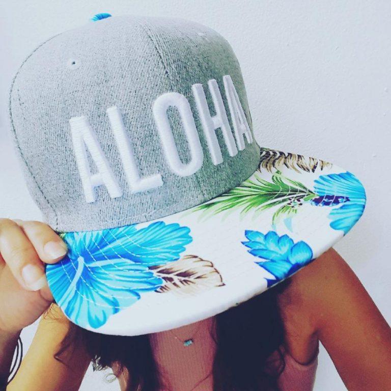12個限定!Alohaキャップ