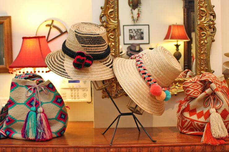 パナマ帽専門店にセレブ愛用バッグが仲間入り
