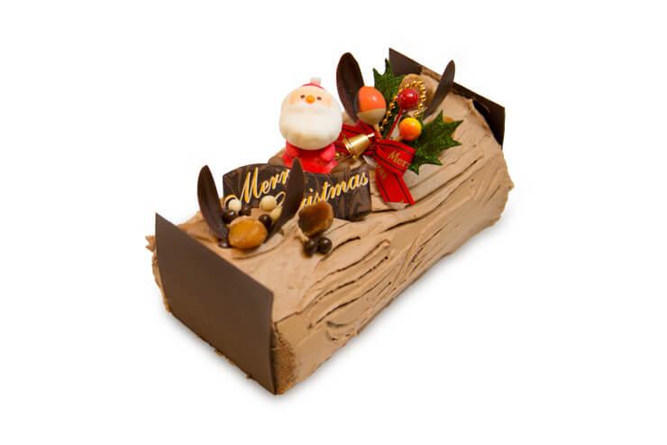 クリスマスチョコレートロール