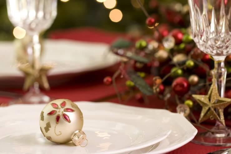 クリスマスをホリデー特別メニューで祝おう