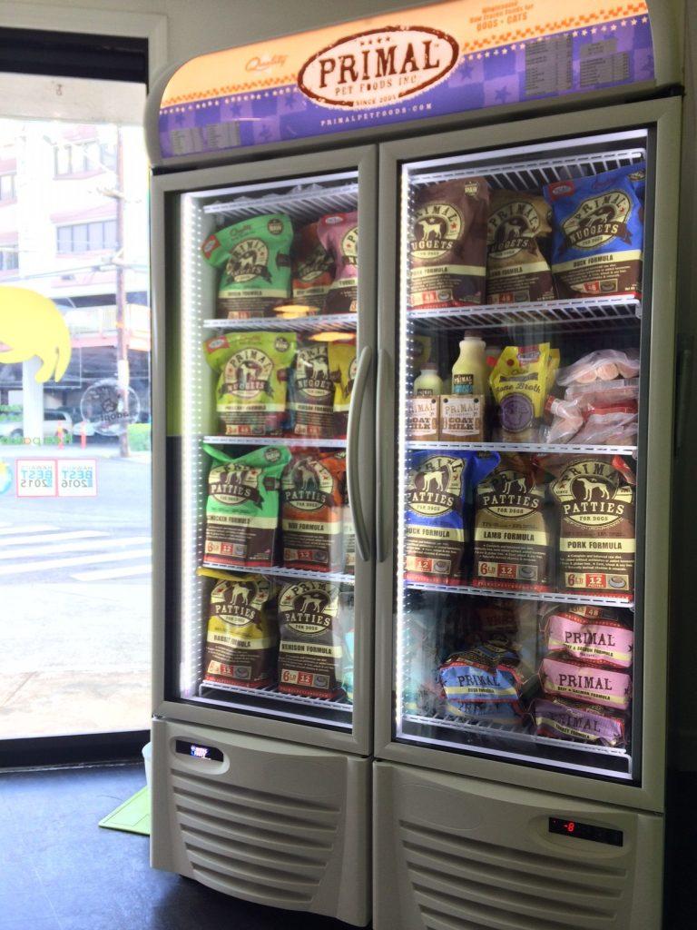 カルビン&スージー・ローフードPrimalの新しい冷凍庫