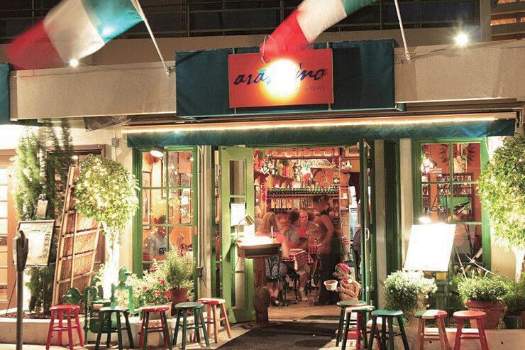 アランチーノの歴史がスタートしたビーチウォーク店