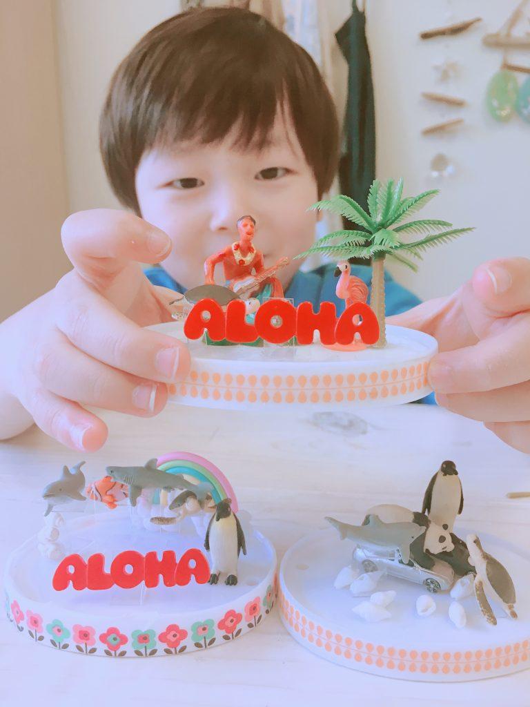 ハワイに行ったら作ろう!スノードーム手作り体験