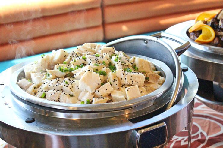 白身魚のシトラス味噌焼き