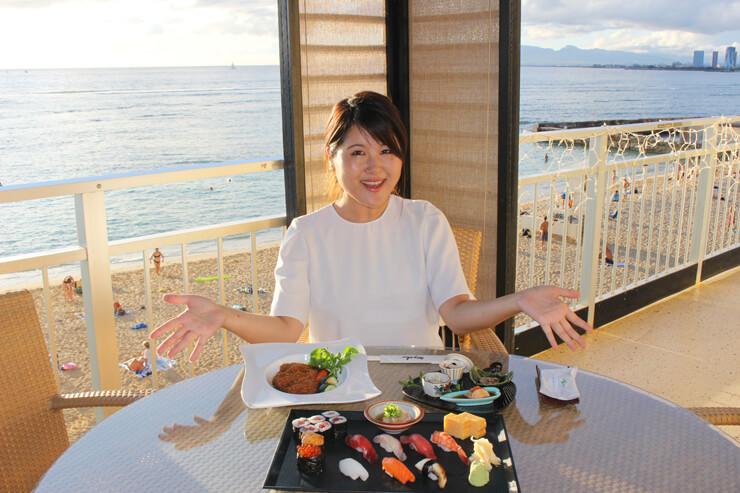 3卓限定!海前の特等席で食す本格日本食に感激