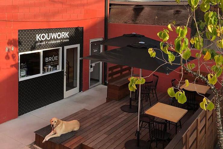 人気カフェとコワーキングスペースのコラボ店が登場
