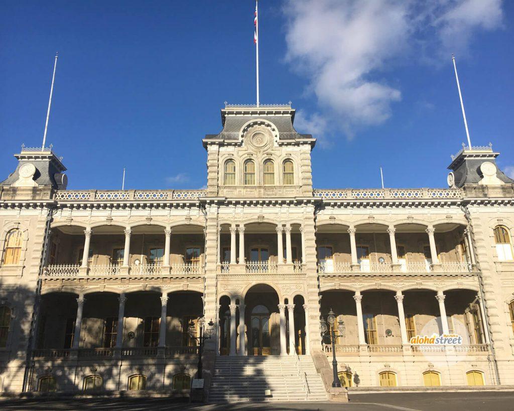 ハワイの歴史を感じるイオラニ宮殿 アロハストリート ハワイ