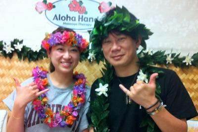 ハワイの初日はいつもアロハ・ハンズ♪