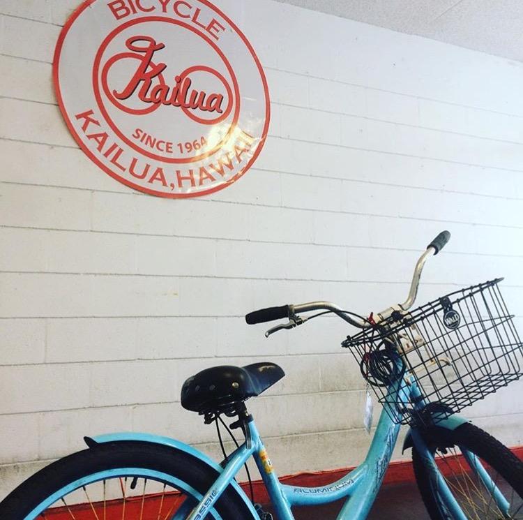 カイルアでレンタル自転車!