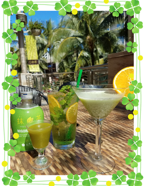 KAIWA☆セント・パトリックスデーは緑のお酒で楽しもう♪♪♪