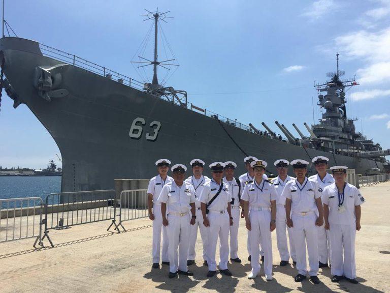 海上自衛隊のみなさま、ようこそ!