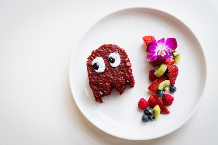 ベルベット・ケーキ($9.50)