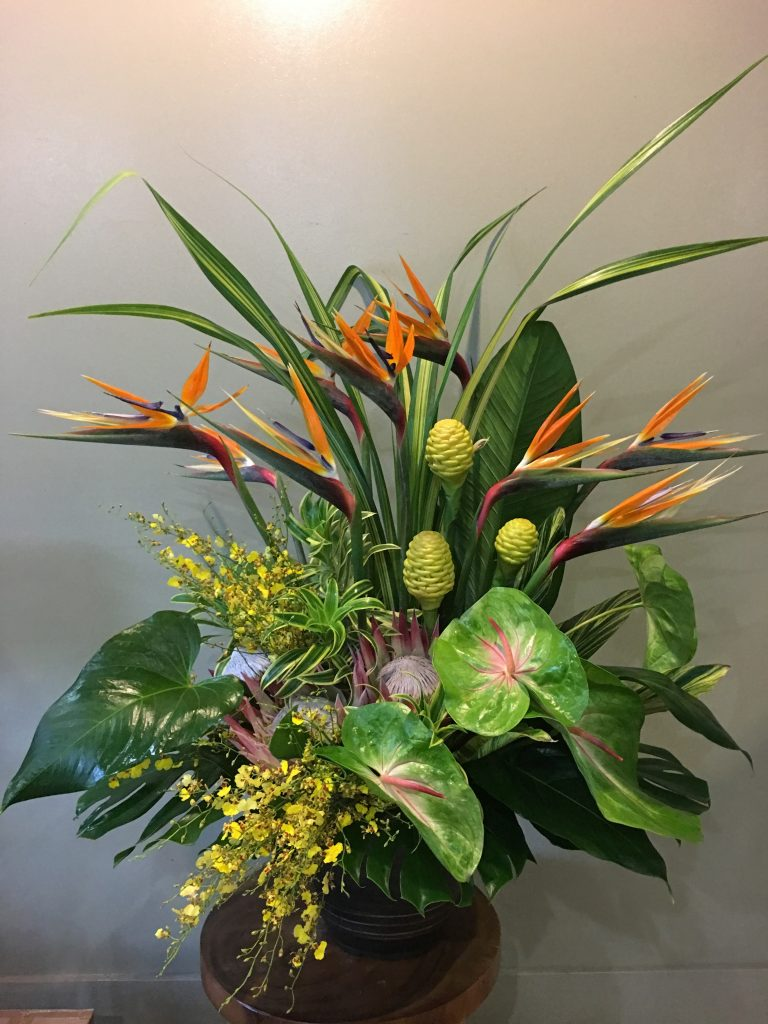 トロピカルのお祝い花