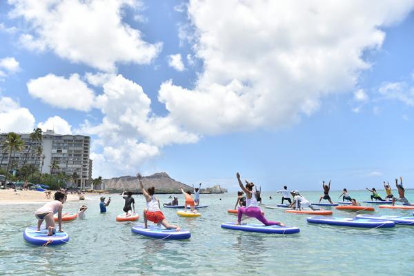 ハワイでヨガ三昧!ヨガフェスタ2018は5月11日開幕