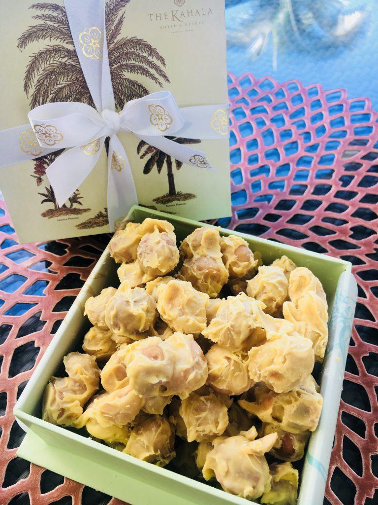 「リリコイ」フレーバーのチョコレートマカダミアナッツを期間限定販売
