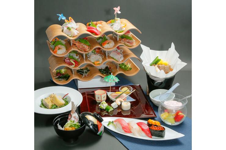 お寿司にお刺身も!本格和食のお得なコース