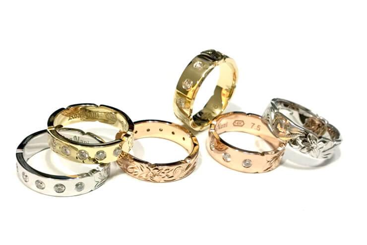 可憐なハワジュの指輪を大切な人へ贈ろう