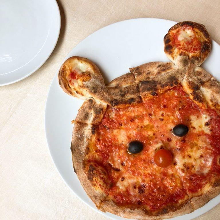 キュートなピザはいかがですか?